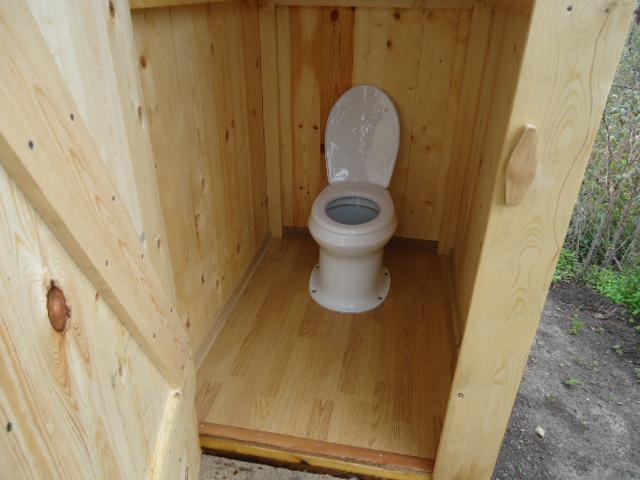Комфортный туалет на даче